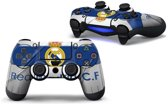 PS4 dualshock Controller PlayStation sticker skin | Real Madrid