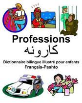 Fran ais-Pashto Professions/کارونه Dictionnaire Bilingue Illustr Pour Enfants