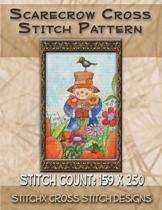Scarecrow Cross Stitch Pattern