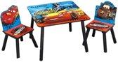 Disney Cars Tafel En Stoelen Set Blauw/rood