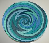 Small wall hanging Ocean waves