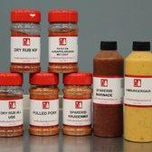 Van Beekum Specerijen - Barbecuekruiden en sauzen pakket - 7 stuks