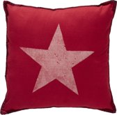 At home with Marieke Starlight Sierkussen - Rood - 40x40