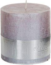 PTMD Kaars metallic zacht roze 10x10cm