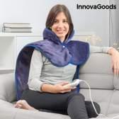 InnovaGoods 60 x 90 cm 100W Elektrische Deken voor Nek, Schouders en Rug