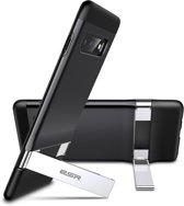 Samsung Galaxy S10 PLUS / Samsung Galaxy S10+ - ESR Military Grade gecertificeerd hoesje met standaard, extreem sterk & duurzaam materiaal – Simplace – ZWART