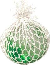 Gerardo's Toys Stressbal Easy Squeezy Glitters 4,5 Cm Groen