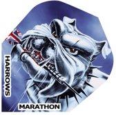 Harrows Darts Flight 1546 Marathon Bulldog 3 Stuks