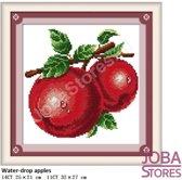 """Borduur Pakket """"JobaStores®"""" Fruit 02 11CT voorbedrukt (32x27cm)"""