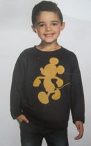 Mickey Mouse sweater maat 128 - 134