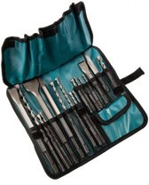 Makita D-53073 17-delige SDS-plus boren en beitel set in etui