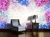 Pink | Blue Photomural, wallcovering