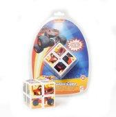 Nickelodeon Big Wheelz Rubiks Cube voor Kinderen – 5x5x5 cm | Educatief Speelgoed | Breinbreker Spellen | Kubus Oplossen