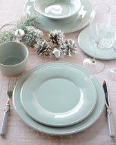 Coté Table Constance dinerbord (4 stuks) D28,5cm - Sea Green