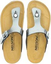 Nelson dames slipper - Brons - Maat 42