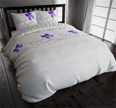 Sleeptime Katoen Tresors - Dekbedovertrekset - Tweepersoons - 200x200/220 cm + 2 kussenslopen 60x70 cm - Wit