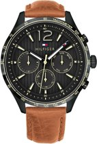 Tommy Hilfiger TH1791470 horloge heren - bruin - 46 mm