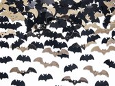 Halloween Confetti Vleermuizen 1,7x0,7cm 15 gram