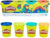 Play-Doh Wilde Kleuren Klei - 4 Potjes