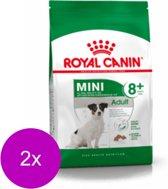 Royal Canin Shn Mini Adult 8plus - Hondenvoer - 2 x 4 kg