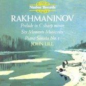 Rachmaninov: Moments Mus Op.16, Piano Son.1, ...