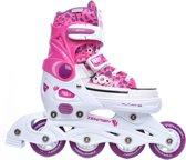 Tempish Rebel Now Inline Skates Junior Wit/roze Maat 37/40