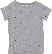 Ebbe - jongens t-shirt - model Bond - grey melange