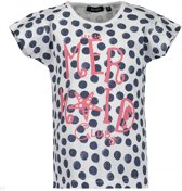 Blue Seven Meisjes T-shirt - donkerblauw - Maat 128