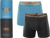 Gift tubes Heren Boxershort - 2 pack