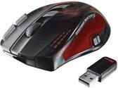 Trust GXT 35 - Draadloze Laser Gaming Muis - Zwart (PC)