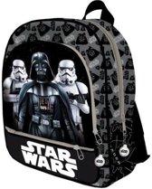 Star Wars rugzak 42 cm - Stormtrooper / Darth Vader -Stevige grote tas met 3 vakken. / goede kwaliteit