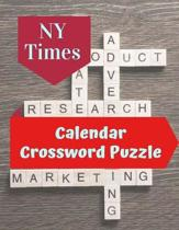 NY Times Calendar Crossword Puzzle: The New Crossword Dictionary Edition Revised, Relaxing Puzzles Forward Crossword Puzzles, Relaxing Puzzles Forward