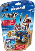 Playmobil Officier met blauw kanon - 6164