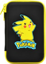 Hori Hard Pouch - Pikachu - Opberghoes - New 3DS XL