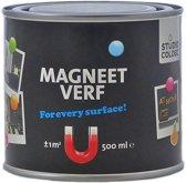 Magneetverf zwart - 500 ml.