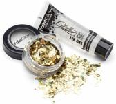 PaintGlow DuoPack Fix gel + Chunky Glitters Gold Digger