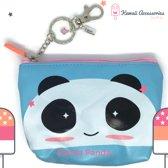 Schattige Panda Portemonnee Sleutelhanger Tassenhanger