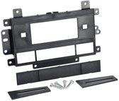 1-DIN Paneel GM Hummer / Chevrolet / Cadillac Kleur: Zwart