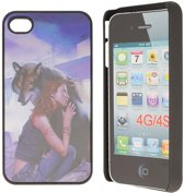 iPhone 4 Hard Case Hoesje - Wolf Love