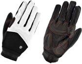 AGU Trail Pittard Gel MTB  Fietshandschoenen - Unisex - zwart/wit