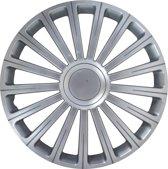 Carpoint Wieldoppen Radical Pro 15 Inch Abs Zilver Set Van 4
