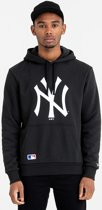 New Era TEAM LOGO HOODY New York Yankees Trui - Black - XL