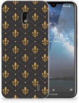 Nokia 2.2 TPU bumper Franse Lelie