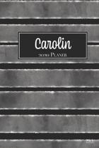 Carolin 2020 Planer: A5 Minimalistischer Kalender Terminplaner Jahreskalender Terminkalender Taschenkalender mit Wochen�bersicht