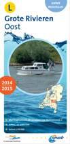 ANWB waterkaart L - Grote rivieren Oost 2014-2015