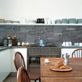 KitchenWalls keukenbehang Slate Tiles 1437