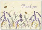 Lavender & Honey Thank You Notes