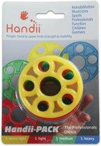Handii siliconen vinger/hand trainers in 4 weerstanden | Perfect voor boulder training.