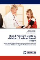 Blood Pressure Levels in Children
