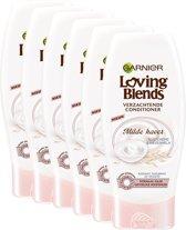 Garnier Loving Blends Milde Haver Conditioner - 6 x200 ml -Voordeelverpakking